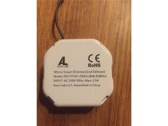 Z Wave Aeon micro smart dimmer 2ed - örnsköldsvik - Z Wave Aeon micro smart dimmer 2ed - örnsköldsvik