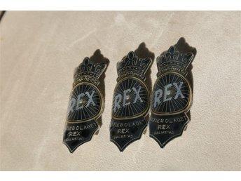 Rex 3st nya cykelmärken - Halmstad - Rex 3st nya cykelmärken - Halmstad