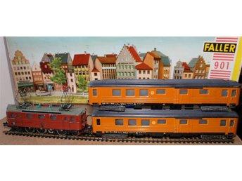 Fleischmann H0 - Tågbana med SJ-ellok Da från 1950-talet. - Bromma - Fleischmann H0 - Tågbana med SJ-ellok Da från 1950-talet. - Bromma