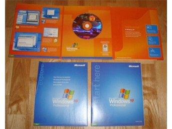 Windows XP Professional Original (32bit) Engelsk Retail - Hisings Backa - Windows XP Professional Original (32bit) Engelsk Retail - Hisings Backa