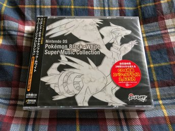 Pokemon Black & White Super Music Collection - Musik CD