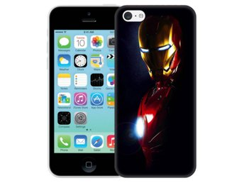 iPhone 5C Skal Glowing Iron Man
