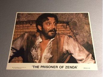 Peter Sellers The prisoner of Zenda fint lobbykort