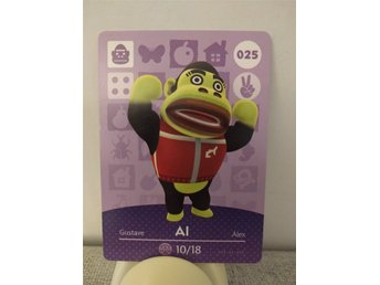 Animal Crossing Amiibo Welcome Amiibo card nr 025 Al