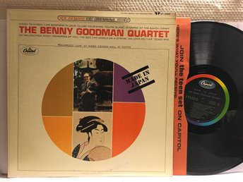BENNY GOODMAN QUARTET - MADE IN JAPAN