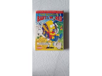 Nintendo Nes The Simpsons Bart VS. The World NES-Y9-SCN