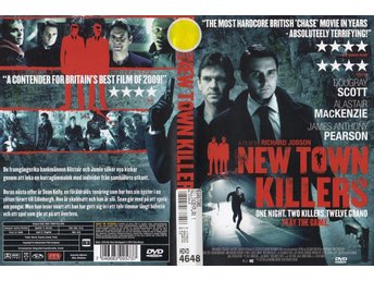 New Town Killers 2009 DVD (Hyr)