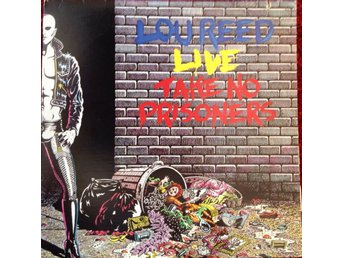 Lou Reed 2LP Lou Reed Live - Take No Prisoners