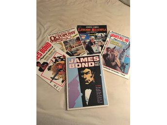 James Bond tidningar+ Bok