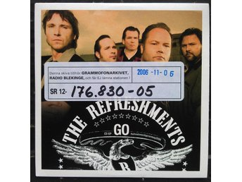 THE REFRESHMENTS - GO. CD EP.