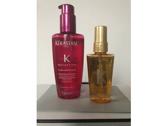 Kerastase Reflection Fluide Chromatique + Hårolja Elixir Ultime