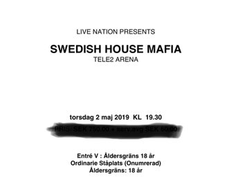 Swedish House Mafia 2/5, 3ST