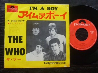WHO - I'm a boy/In the city  Polydor Japan -67