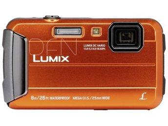 Panasonic Lumix DMC-FT30 orange - Höganäs - Panasonic Lumix DMC-FT30 orange - Höganäs