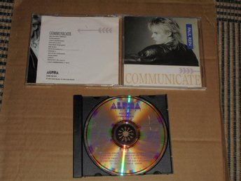 PAUL REIN – COMMUNICATE, CD 1986 SWEDISH ON ALPHA RECORDS ONE CD 013