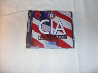 CIA The Secret Files Mac OS & PC Windows CD ROM Multimedia
