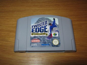 N64/PAL: Twisted Edge Snowboarding (enbart kassett)