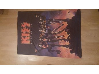 KISS FLAGGA DESTROYER STOR 106 X 75