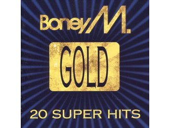 Boney M - Gold: 20 Super Hits - 1992 - CD