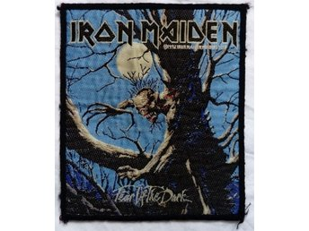 IRON MAIDEN/TYGMÄRKE/PATCH/HÅRDROCK/METAL