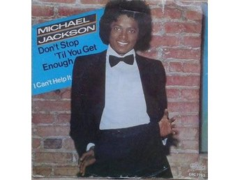 "Michael Jackson title* Don't Stop 'Til You Get Enough*  7"" Netherlands"
