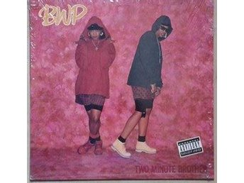 "BWP title* Two Minute Brother* 90's Hip-Hop 12"" US"