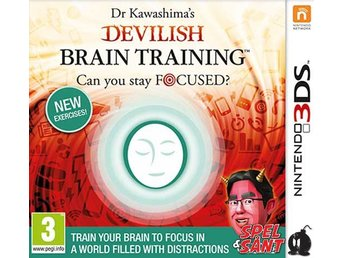 Dr. Kawashimas Devilish Brain Training Can You Stay Focused?