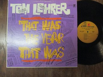 "Tom Lehrer ""That Was The Year That Was"""