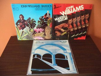 John Williams: 4xLP, The Height Below + Barrios + Master Of The Guitar.
