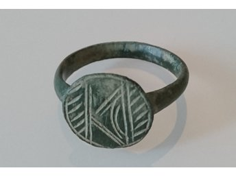 ROMAN ANCIENT ARTIFACT BRONZE RING