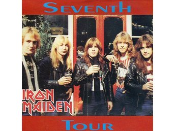 Iron Maiden -Seventh tour cd Hammersmith Odeon 1988