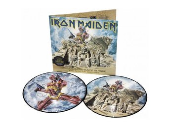 Iron Maiden -Somewhere Back In Time pic disc ORIGINAL 2008