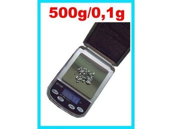 Digital LCD Våg Pocket scale 500g/0.1 grams noggrannhet