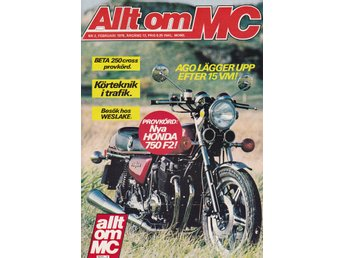 Allt Om Mc 1978-2 Honda 750 F2 Stor Test..Beta 250 Cross