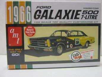 AMT 1/25 1966 Ford Galaxie 500 Hardtop