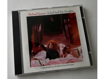 Michael Nyman - A Zed And Two Thoughts / Peter Greenaway CD - Enskede - Michael Nyman - A Zed And Two Thoughts / Peter Greenaway CD - Enskede