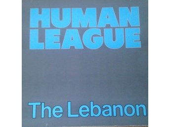 "Human League  titel*  The Lebanon* Rock, New Wave EU 12"" Maxi"