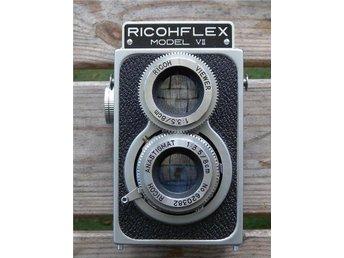 Ricoflex modell VII i snyggt och hyggligt skick - Stallarholmen - Ricoflex modell VII i snyggt och hyggligt skick - Stallarholmen