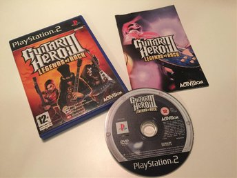Playstation 2 PS2 Guitar Hero III 3 Legends of Rock CIB