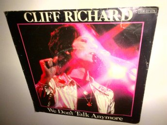 Cliff Richard - We Don't Talk Anymore, vinyl EP