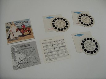 Canada Vintage View Master slides Sawyers Inc Rare