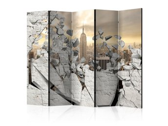 Rumsavdelare - City behind the Wall II Room Dividers 225x172
