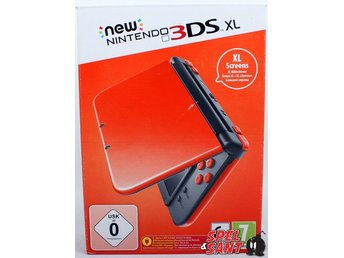 Nintendo New 3DS XL Orange + Black (inkl. AC Adapter)