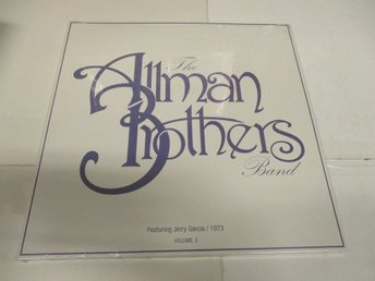 The Allman Brothers Band feat. Jerry Garcia (LP) - 1973, Vol. 3 - Ospelad!