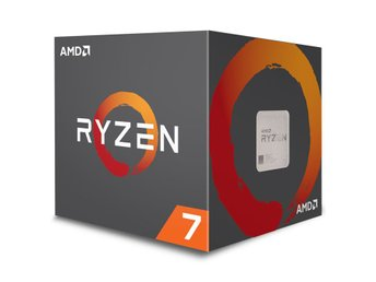 AMD Ryzen 7 2700X Processor 4,35GHz Socket AM4 inkl. kylare