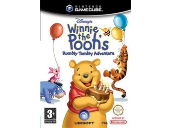 Nalle Puh - Winnie The Poohs Rumbly Tumbly Adventure - Nintendo Gamecube