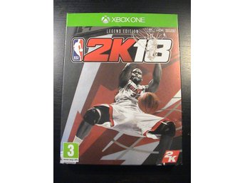 NBA 2K18 - LEGEND EDITION med mycket bonusmaterial / XBOX ONE / NYTT & INPLASTAT