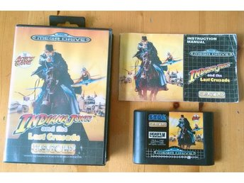 Sega Mega Drive Indiana Jones Last Crusade