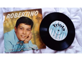 Robertino (Loreti), vinyl single från 1961