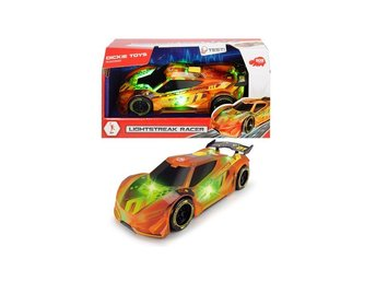 Simba Dickie Toys Leksaksbilar Cars Bilar Lightstreak Racer Orange 20cm
